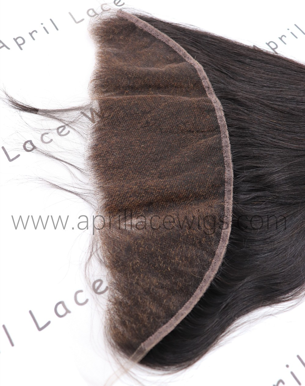 HD thin lace virgin hair silk straight 13x4 frontal