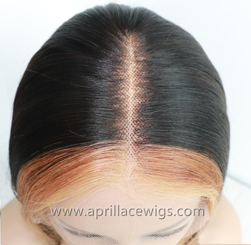 highlight bob lace wig