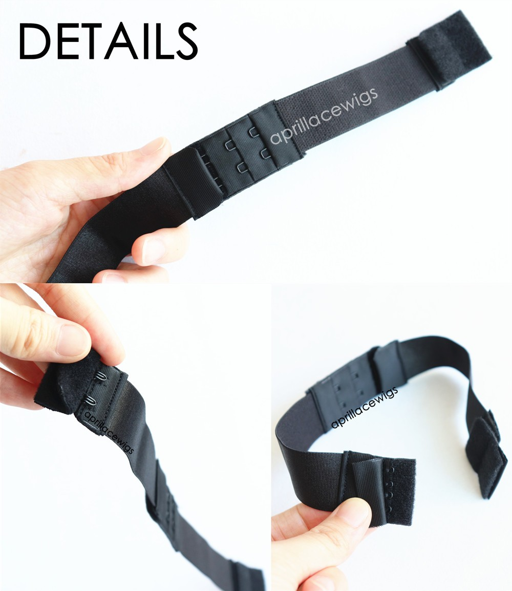 adjustable removable extra elastic band for lace wigs glueless installation