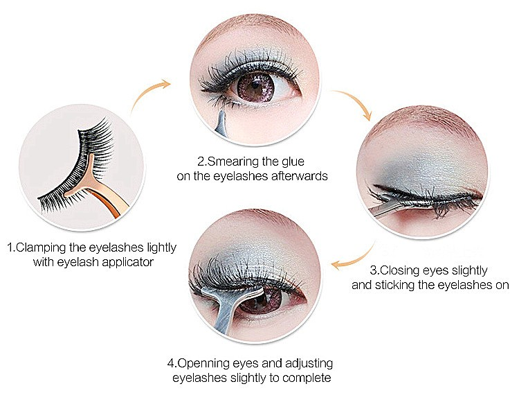 Wholesale custom box handmade super long thick 5D Mink Eyelashes makeup party