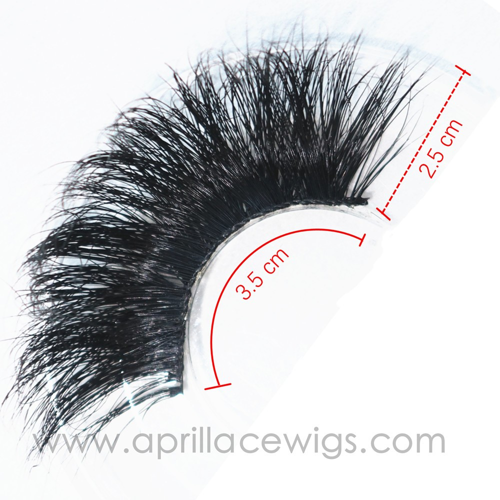 Wholesale custom box handmade super long 5D Mink Eyelashes