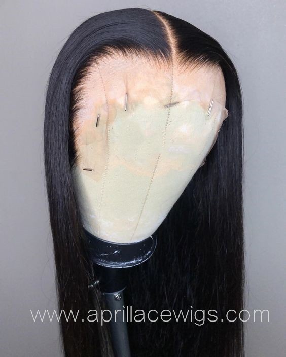 HD lace front wig glueless wig 6 inches deep parting preplucked hairline