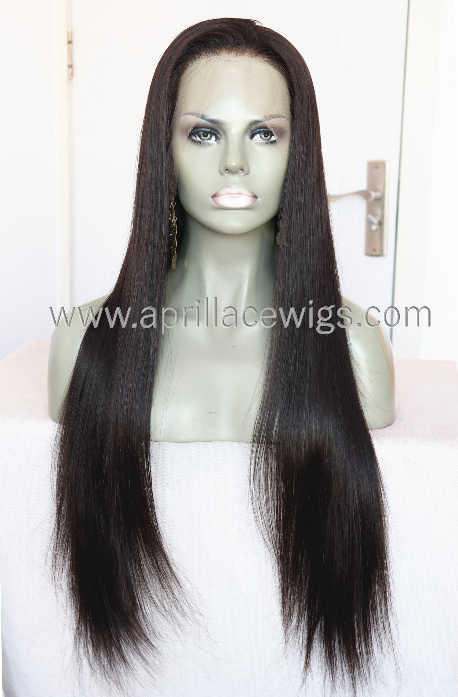 HD thin full lace wig virgin human hair preplucked hairline with straps HDW222