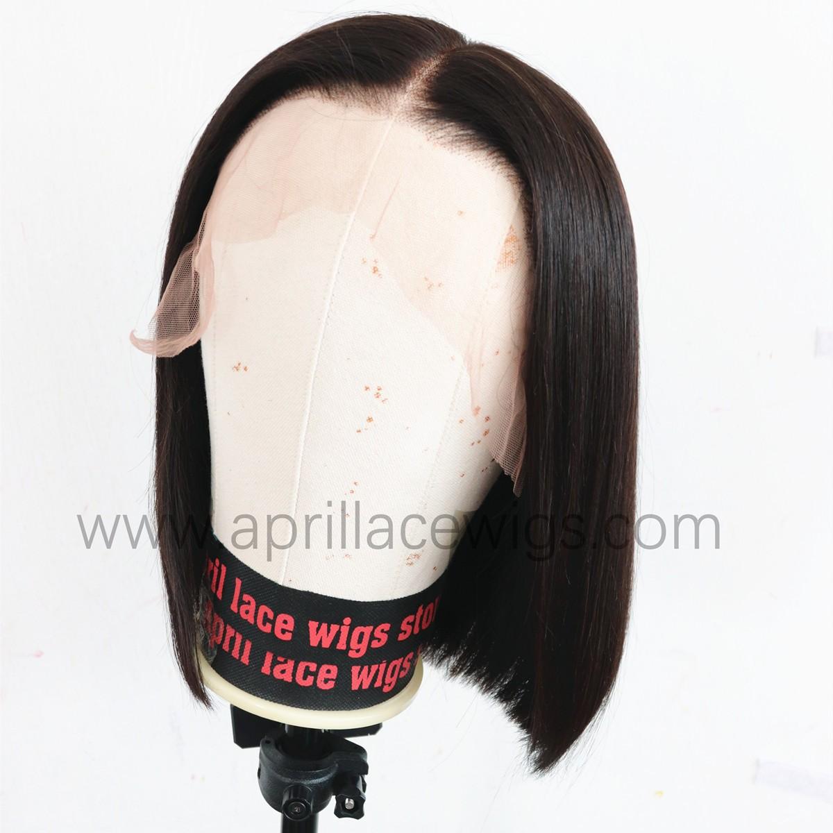 13x6 lace front wig bob cut lace wig