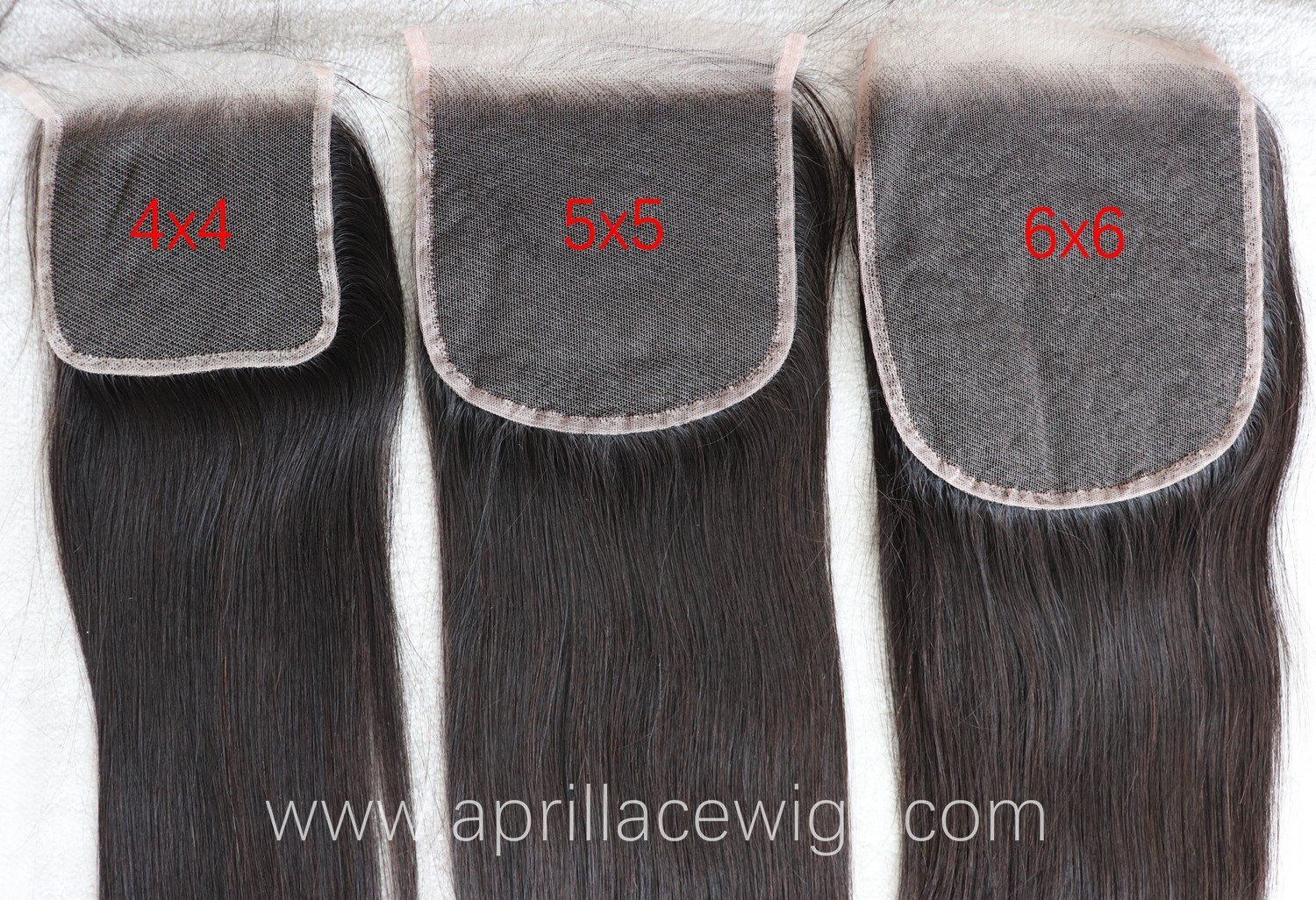 4x4 HD lace closure, 5x5 HD lace closure, 6x6 HD lace closure and lace frontal
