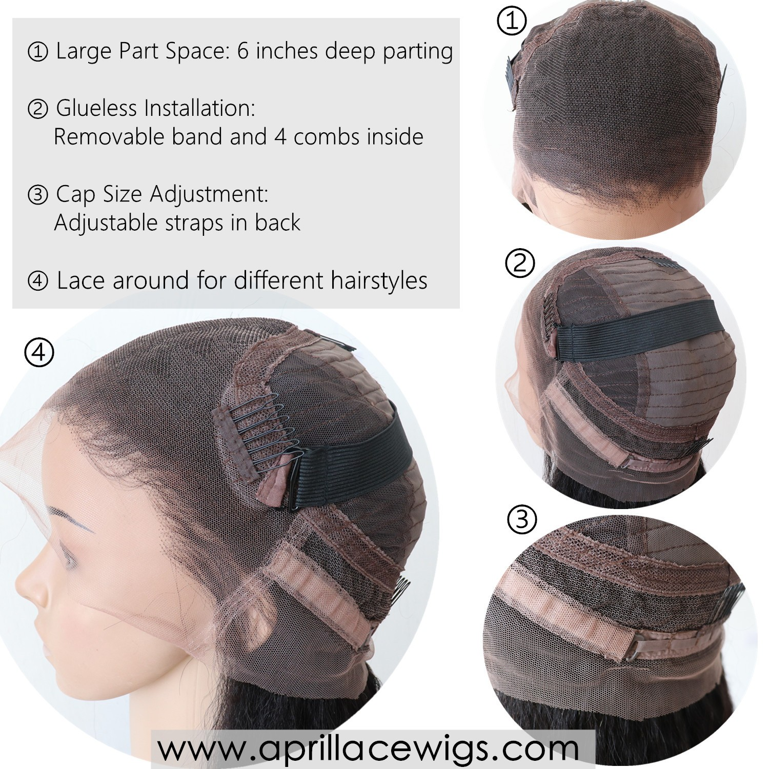 370 lace wig, 370 wigs