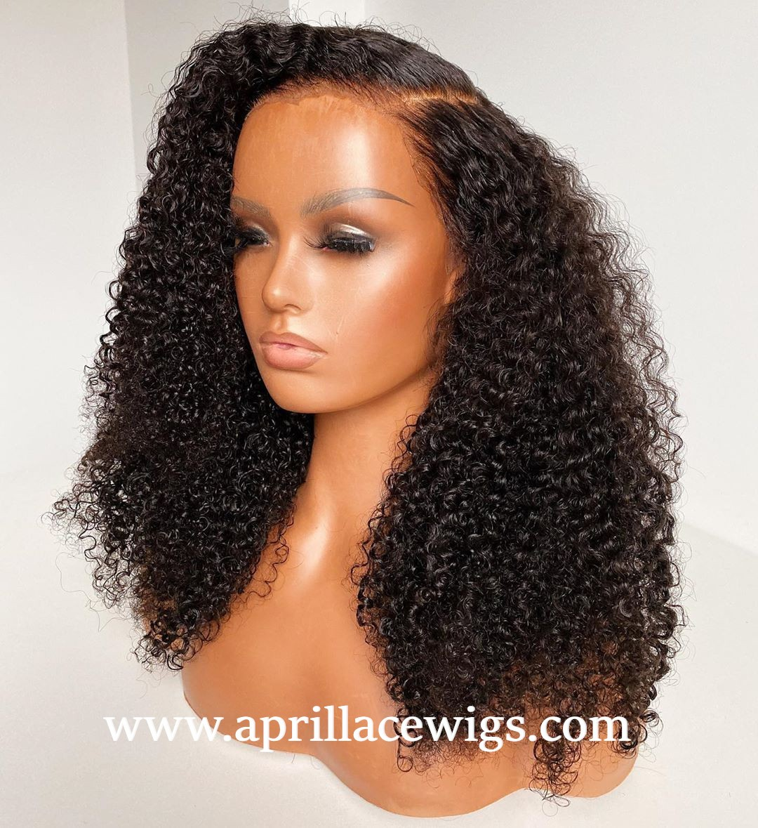 virgin human hair tight deep curly 360 wig mimic african american hair
