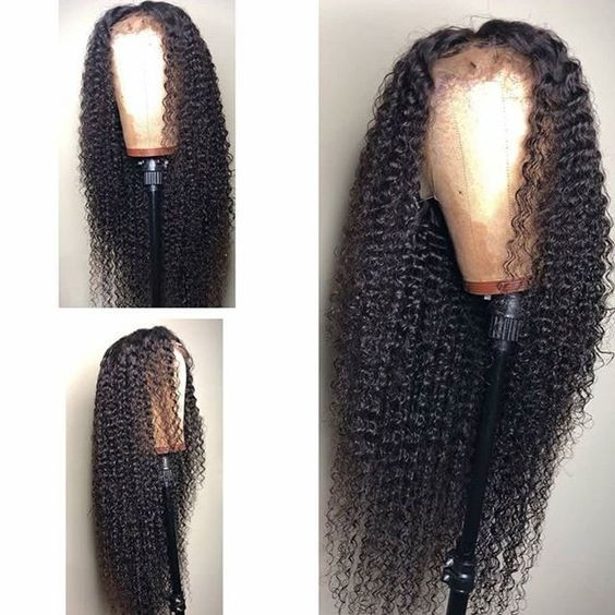 Jerry curly 360 lace wig glueless lace wigs human hair