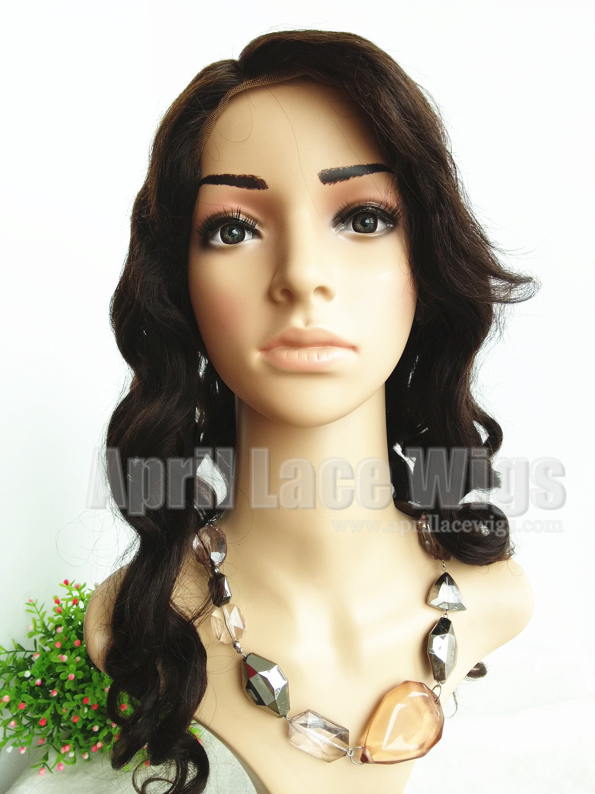 Gorgous big wave glueless wig