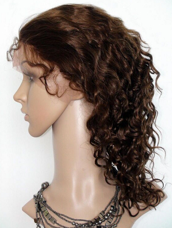 glueless full lace wig deep wave
