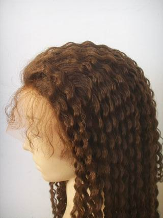 Deep wave, lace front wigs